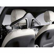 Mercedes-Benz Kleiderbügel Style & Travel Equipment schwarz Kunststoff, A0008103400