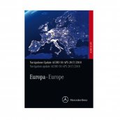 Mercedes-Benz Navigations-DVD Audio 50 APS Europa Version 2017/2018 korallenrot, A2048271900