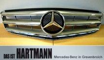 Mercedes-Benz C-Klasse Kühlergrill Brilliantsilber Metallic W204 Avantgarde Elegance, A2048800023    9744