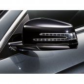 Mercedes-Benz Außenspiegelgehäuse 2-teilig schwarz, A2128100079