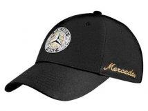 Mercedes-Benz Cap Damen, Classic schwarz, 100% Baumwolle, B66041517