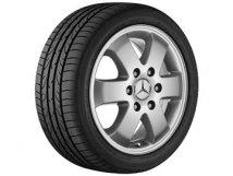 Mercedes-Benz Einzelfelge Sprinter 6-Speichen-Rad, 40,6 cm 16 Zoll 6,5 J x 16 ET 62, B66570022