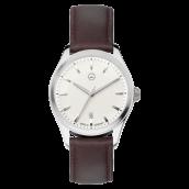 Mercedes-Benz Dreizeiger-Armbanduhr Elegant Basic braun, B66950816
