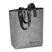 Einkaufstasche grau