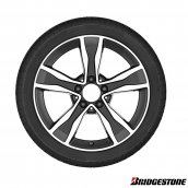 Bridgestone C-Klasse W205 Winter Komplett-Radsatz Bridgestone Blizzak LM32 MO 17 Zoll, Q440141910160-70