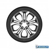 Michelin GLC-Klasse Winter Komplett-Radsatz Michelin Latitude Alpin LA2 MO gebraucht X253, Q440301510390G1satz