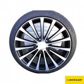 Dunlop C-Klasse Limousine W205 Sommer Komplett-Radsatz Borbet-Felge schwarz Dunlop, Q8518BLX011210850