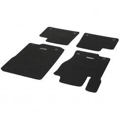 Veloursmatten CLASSIC Satz 4-teilig M-Klasse W166 schwarz