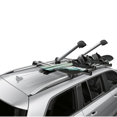 Mercedes Benz Ski and snowboard rack New Alustyle Comfort silver / black