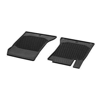 Mercedes Benz Floor mats rubber mats CLASSIC Driver / passenger mat 2 pcs. W176 W246 CLA GLA