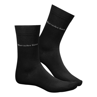 Mercedes-Benz Socken Herren 2er Set schwarz