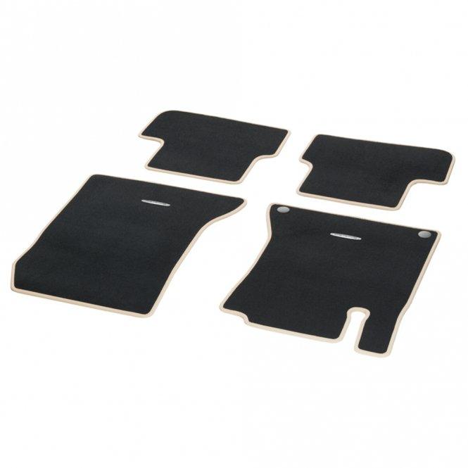 Fußmatten Veloursmatten CLASSIC Satz A- B- CLA-Klasse W176 W246 C117