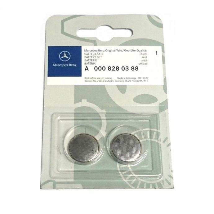 Batteriesatz Schlüsselbatterie 2er Set - 3V CR2025