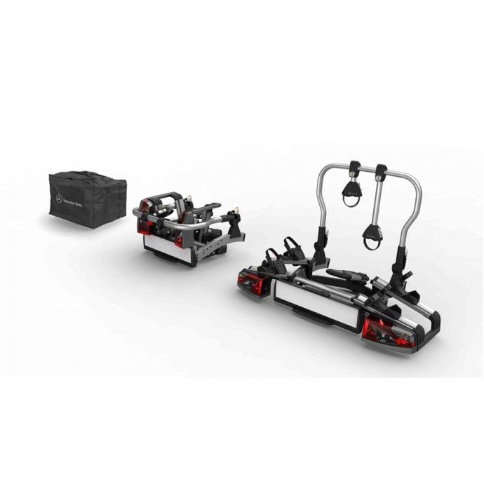 Heckfahrradträger für Anhängevorrichtung klappbar 2 Fahrräder