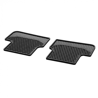 Fußmatten Gummimatten CLASSIC Fond 2-teilig schwarz W176 W246 CLA GLA