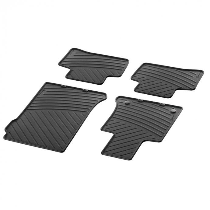Fußmatten Gummimatten CLASSIC Satz GLK-Klasse X204 4-teilig