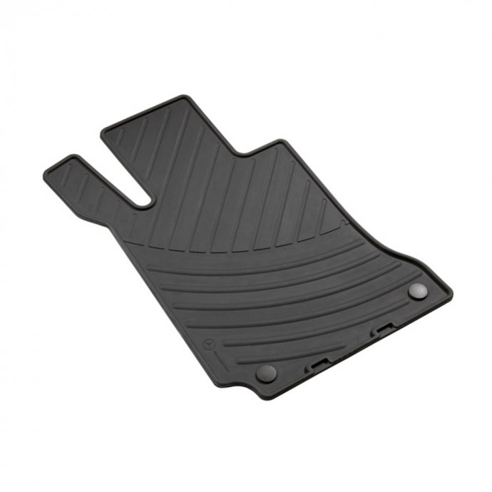 Fußmatten Gummimatten CLASSIC Satz C-Klasse W204 4-teilig schwarz
