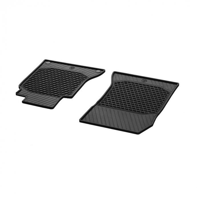 Fußmatten Gummimatten CLASSIC Fahrer-/Beifahrermatte C-Klasse W205 2-teilig schwarz