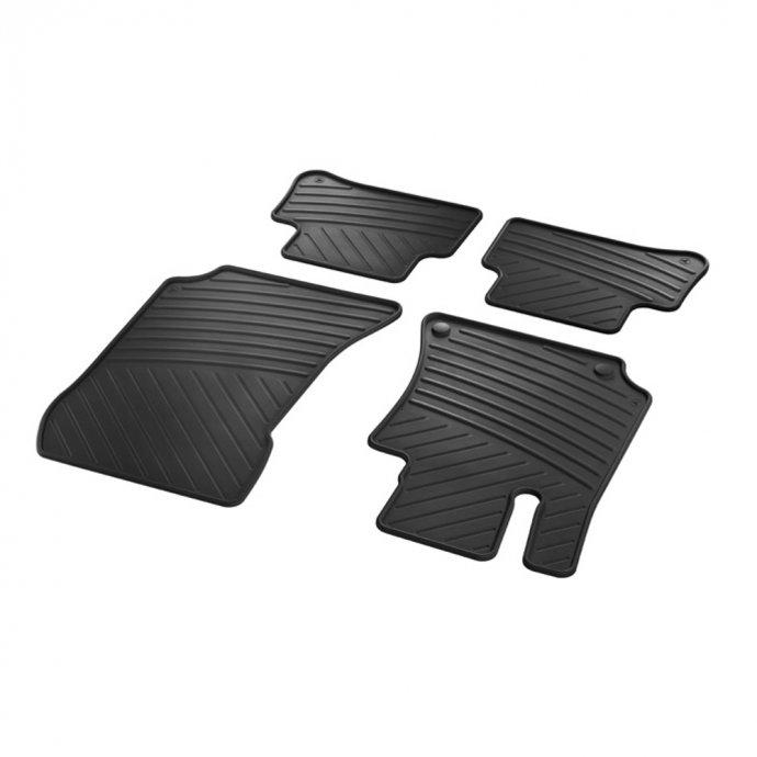 Fußmatten Gummimatten CLASSIC Satz CLS-Klasse C218 E-Klasse W212 4-teilig
