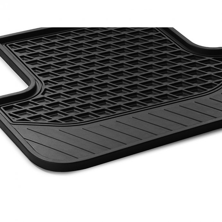 Fußmatten Gummimatten Fond 2-teilig S-Klasse W222