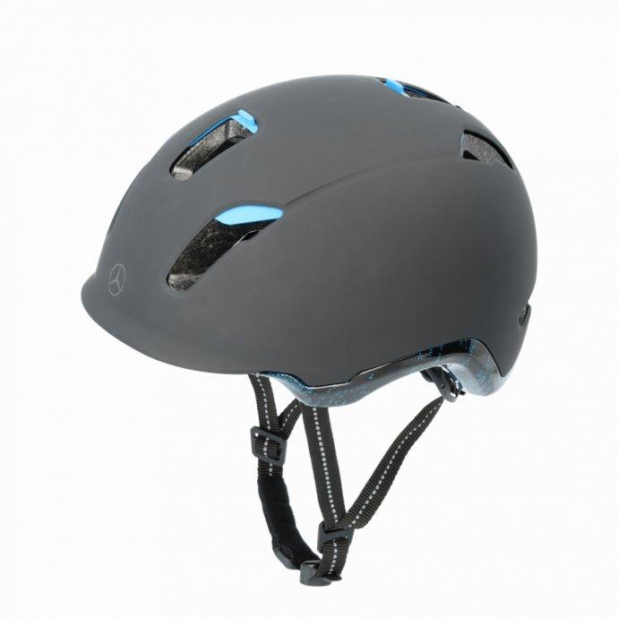 Fahrradhelm schwarz