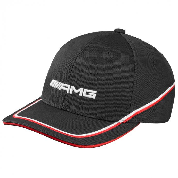 Cap AMG Herren schwarz/rot