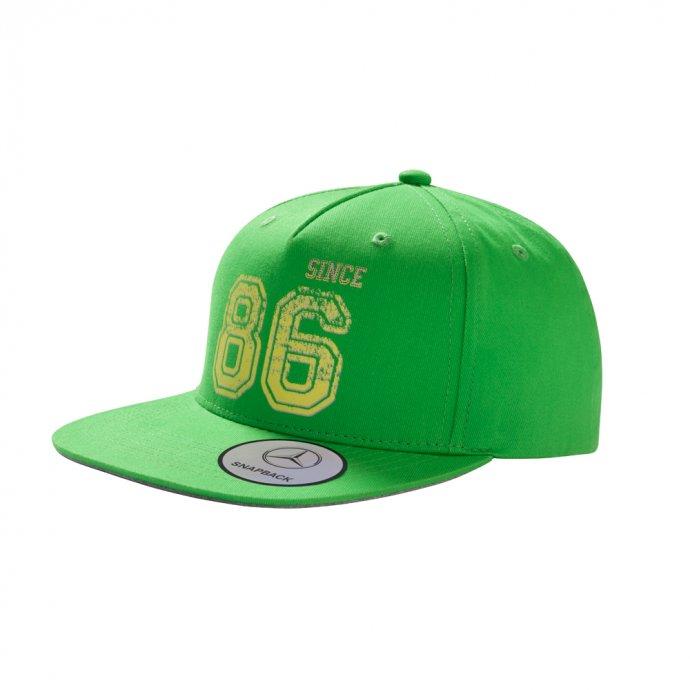 Flat Brim Cap Kinder grün