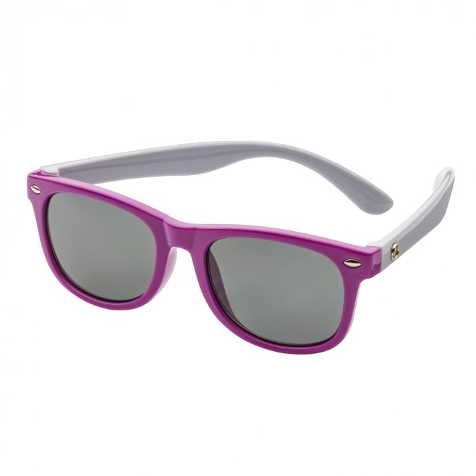 Sonnenbrille Kinder lila/grau