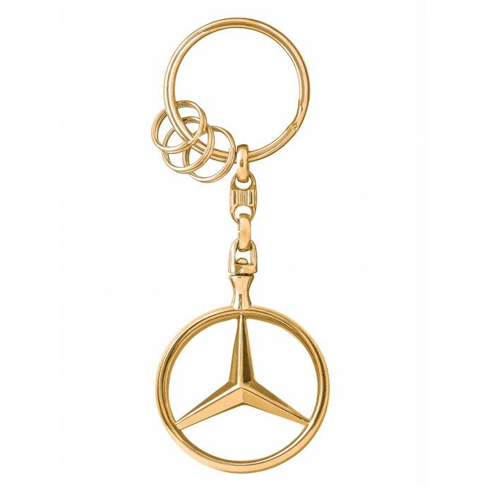 Schlüsselanhänger Brüssel Gold