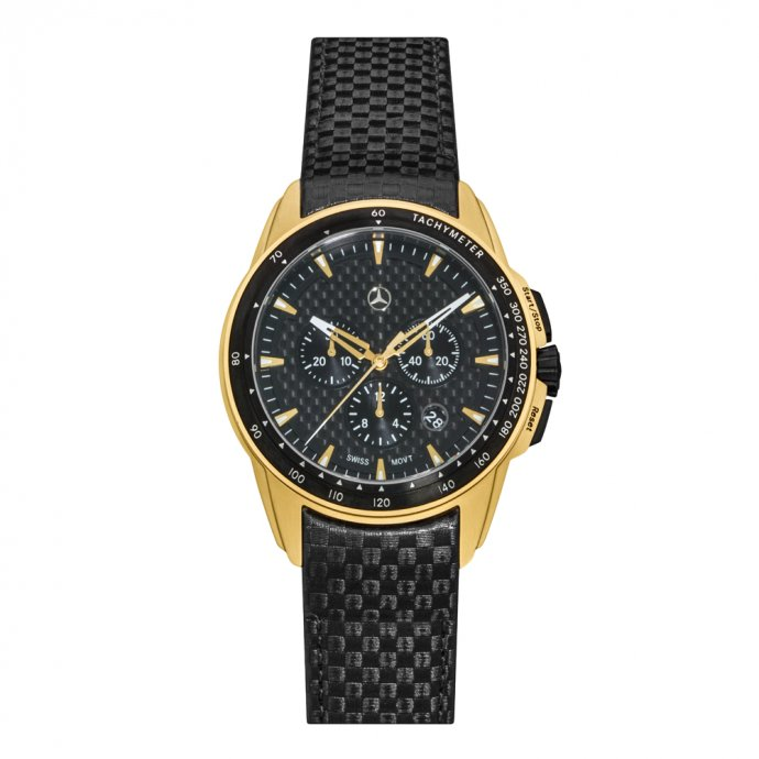 Chronograph Herren Motorsport Gold Edition