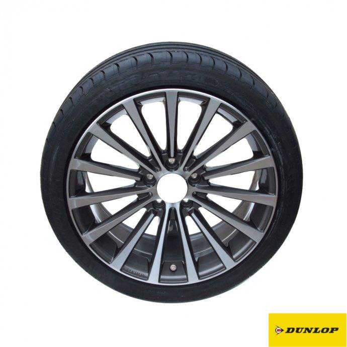 C-Klasse Limousine W205 Sommer Komplett-Radsatz Borbet-Felge Dunlop Sport Maxx RT