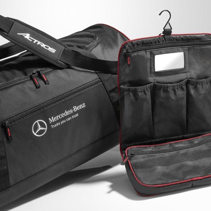 Original Mercedes-Benz Reisetasche Actros schwarz rot B67871669