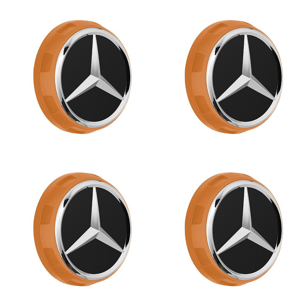 Original Mercedes-Benz AMG Radnabenabdeckung im Zentralverschlussdesign