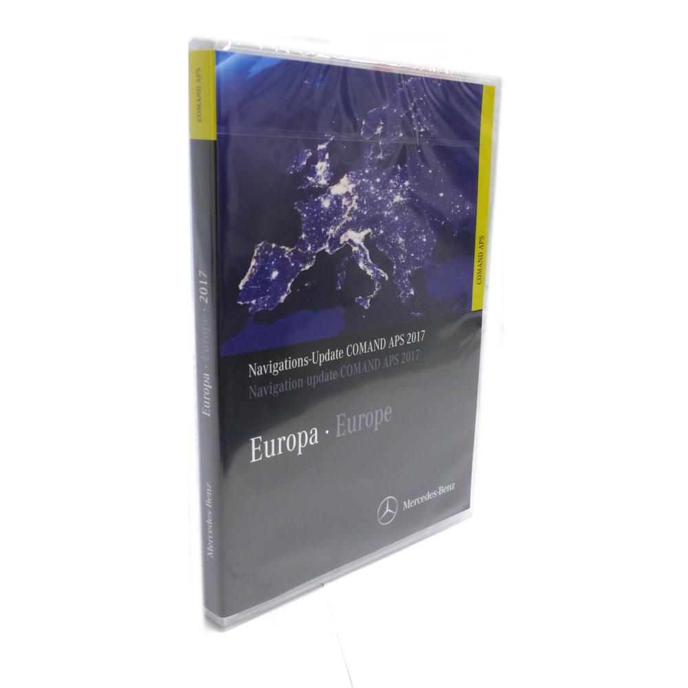 Navigations-Update COMAND APS Europa 2019 Version zitrusgelb