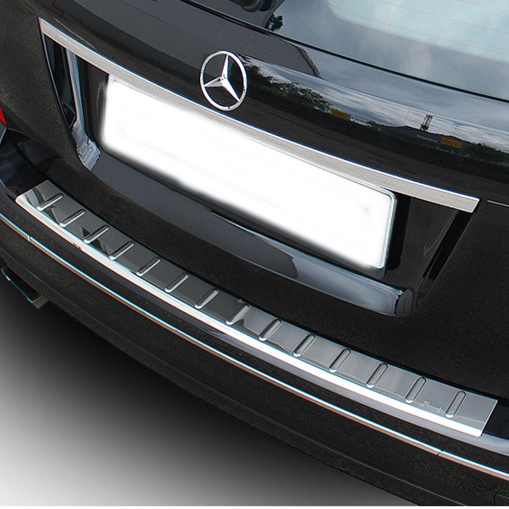 - SCHWARZ Sto/ßstangenschutz Folie Lackschutzfolie Benz C-Klasse T-Modell Typ S204, BJ 2008-2014 PR-Folia Ladekantenschutz